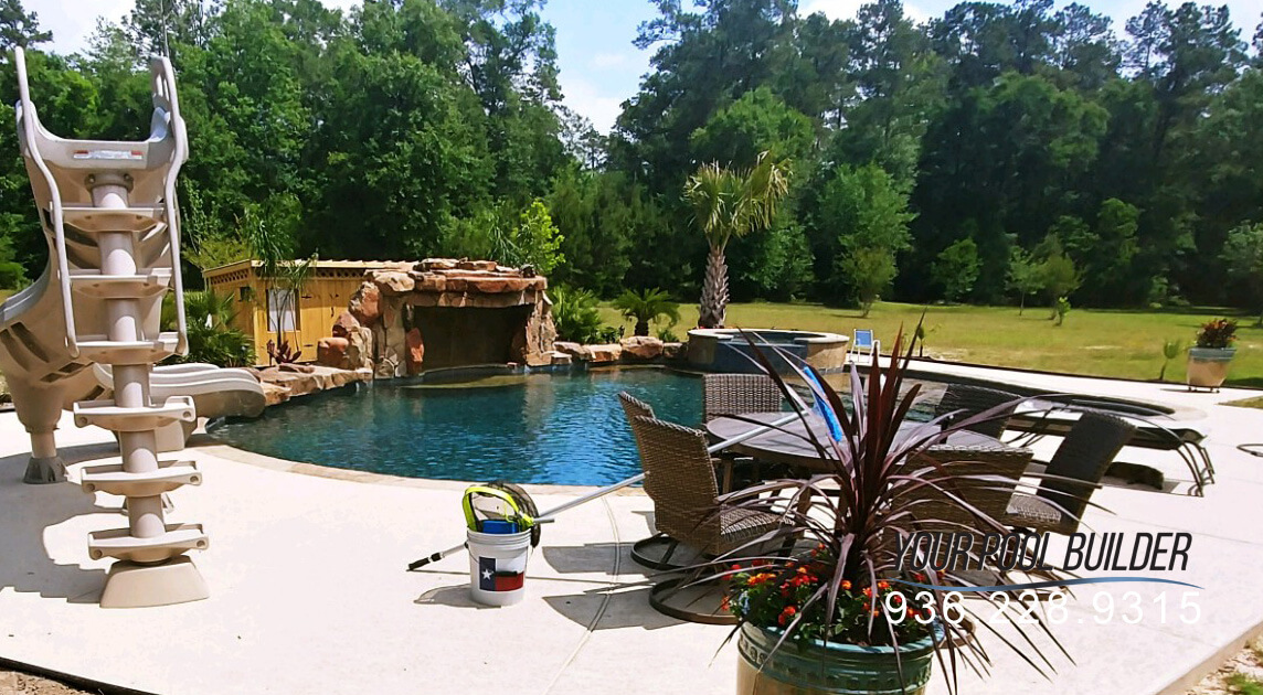Your Pool Builder Conroe  Inground Pool  Spa Company  Conroe TX