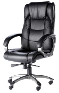Norway High Back Soft Feel Leather Executive Office Chair ...