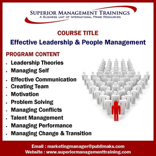 Effective Leadership & People Management