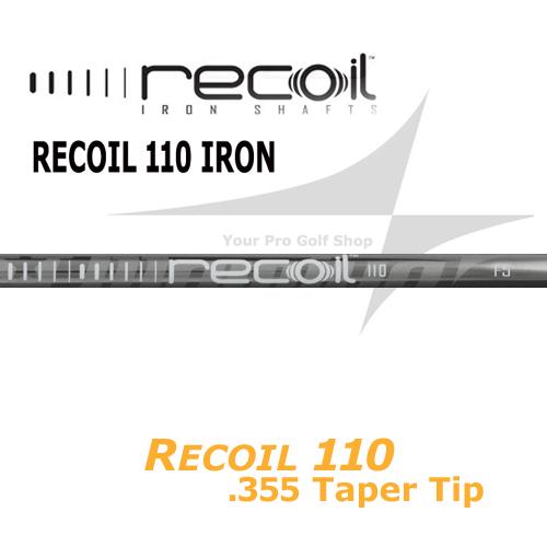 UST Mamiya Recoil 110 Taper Tip 0.355 Iron Shafts