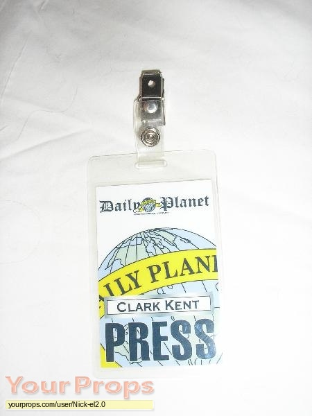 image relating to Clark Kent Press Pass Printable known as √ Day by day Globe Thrust P Template