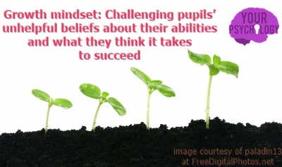 "Growth Mindset: ""Even Einstein struggled…"""