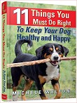 Dog feeding and health book by Michele Welton