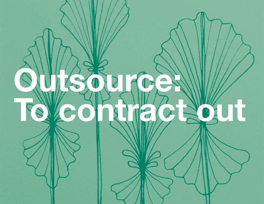 The Joy of Outsourcing