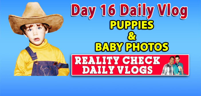DAY 16 VLOG: Puppies, Baby Photos & How I Became Gay!