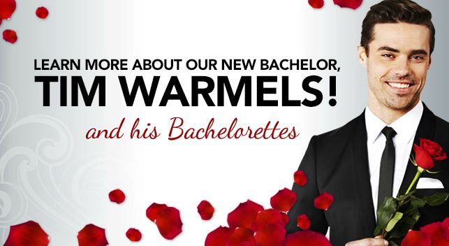 Tim Wormels is the Next Bachelor Canada