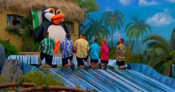 Big Brother 16 contestants participate in otev veto competition on episode 22