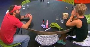 Donny Thompson fills Nicole Franzel in on everything she missed the last week on Big Brother 16 episode 27