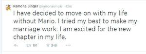 ramona divorces Mario