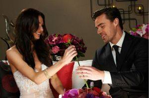 Tim Wormels can't wait til the Rose Ceremony to give Natalie her rose on The Bachelor Canada episode 1