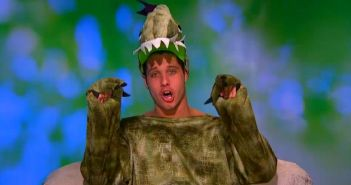 Cody Calafiore is transformed into Codysaur on Big Brother 16 episode 31