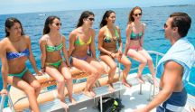 Tim Warmels takes the ladies Shark diving on The Bachelor Canada 2 episode 4