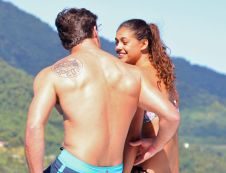 Tim Warmels and April Brockman spend a romantic day on the yacht on The Bachelor Canada 2 episode 9
