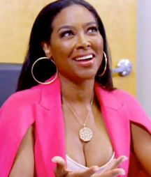 Kenya Moore discusses future projects with Roger Bobb on RHOA  Episode 12