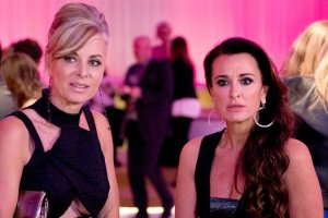 Eileen Davidson and Kyle Richards are told to Shoo Fly by Kim Richards on RHOBH The Party's Over