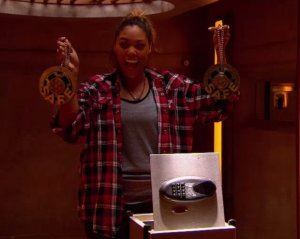 Brittnee Blair wins the secret double veto on BBCAN3 episode 22