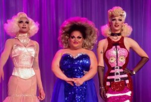 Ginger Minj, Violet Chachki and Pearl are Ru Paul's Drag Race top three