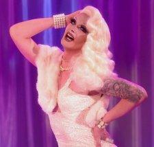 Pearl lip synchs to sleep walker on RuPaul's Drag Race, the Finale