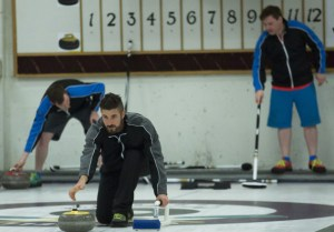Gino Montani learns to curl on The Amazing Race Canada 3 but get beat by Brent Sweeney and Sean Sweeney