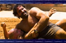 Nick Foti and Matt Giunta show off their wrestling skills on Amazing Race Canada 3