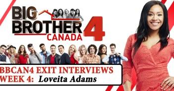 Loveita Adams, Big Brother Canada 4, Big Brother Canada, BBCAN4, Your Reality Recaps