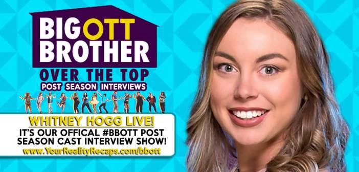 #BBOTT Post Season Interview: Whitney Hogg