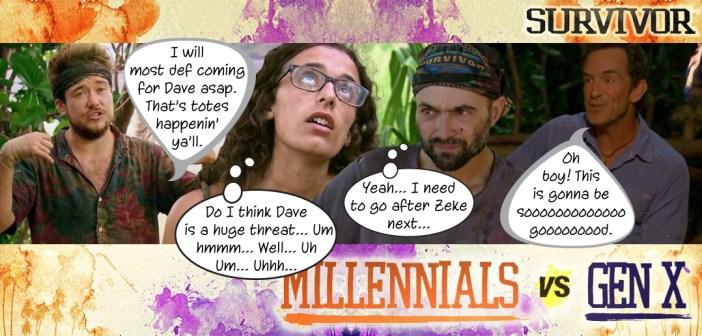 Survivor 33 Millennials vs Gen X Blog Recap Episode 10: Million Dollar Gamble