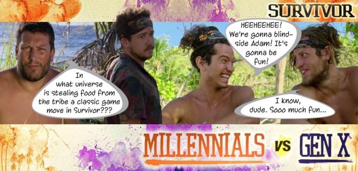 Survivor 33 Millennials vs Gen X Blog Recap Episode 8: I'm the Kingpin