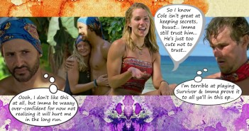 Survivor 35 Heroes Healers Hustlers Blog Recap Ep4: I Don't Like Having Snakes Around