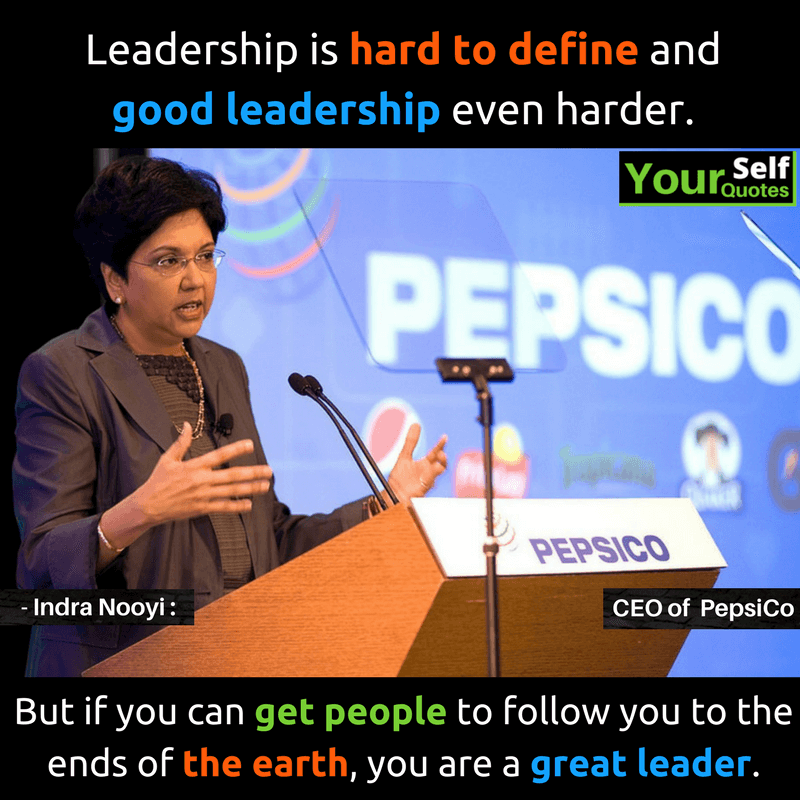 Good Leadership Quotes: Leadership Quotes By Successful Women ― YourSelfQuotes.com
