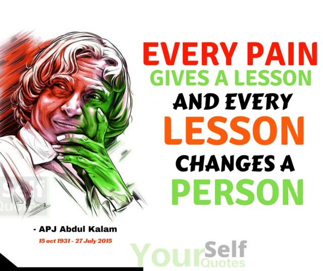 APJ Abdul Kalam Thoughts Words