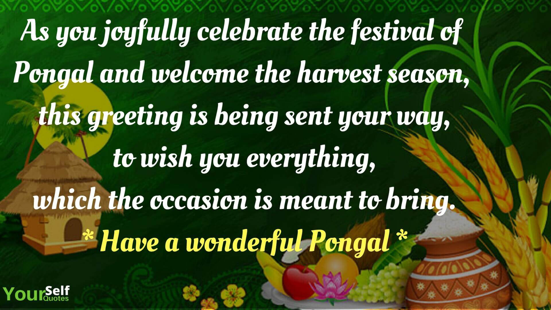 Happy pongal festival wishes 2018 messages greetings images happy pongal festival wishes photo kristyandbryce Images