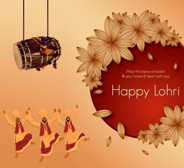Happy Lohri Wishes Whatsapp Images