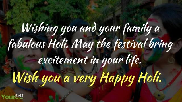 Happy Holi Messages Photo
