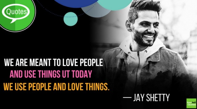 Jay Shetty Love Things Quotes