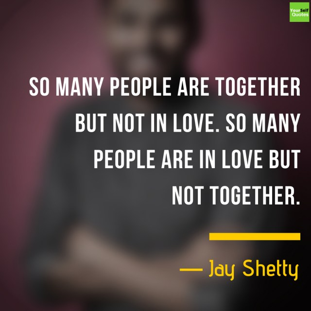 Jay Shetty Quotes on Love