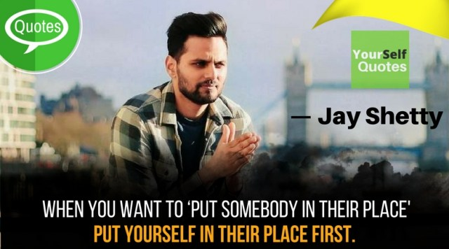 Jay Shetty Yourself Quotes