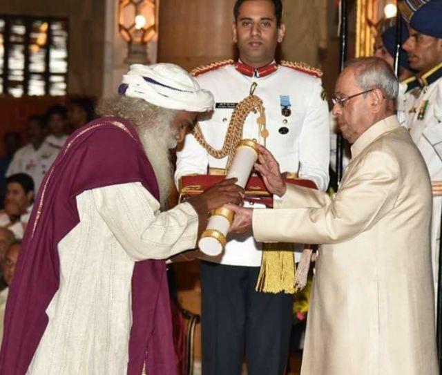 Sadhguru Padma Vibhushan Award