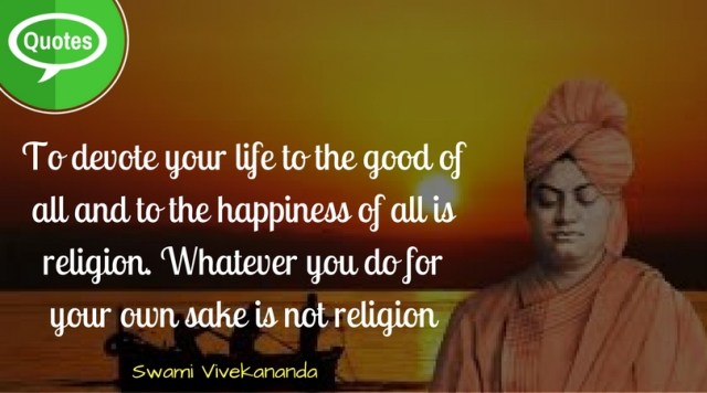 Swami Vivekananda Quotes on Life
