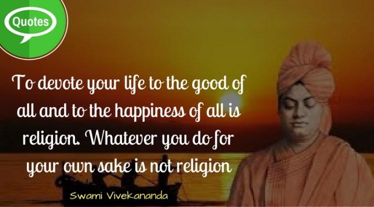 Swami Vivekananda Quotes on Life