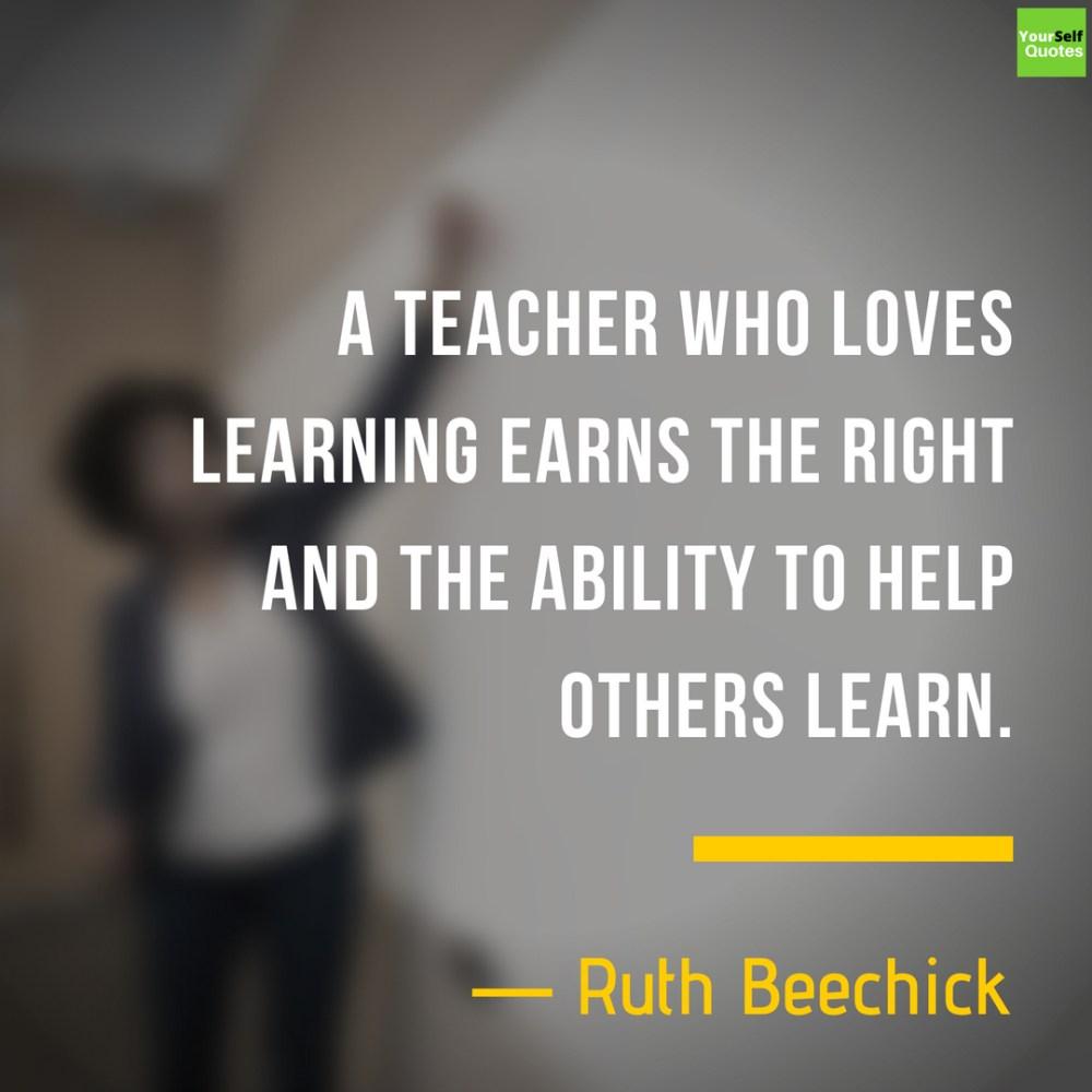 Teacher day Love Quotes