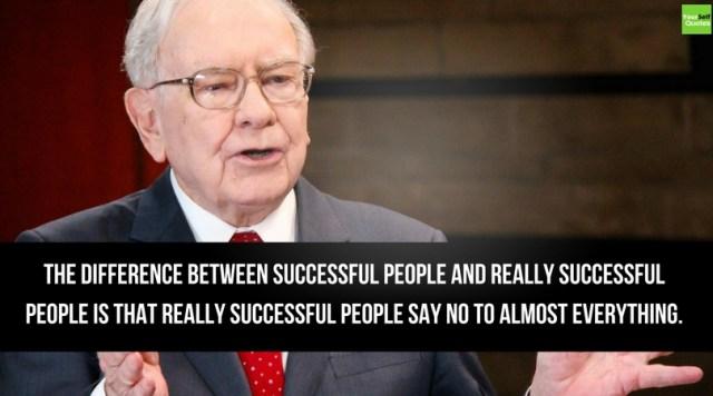 Warren Buffett Quotes on Successful