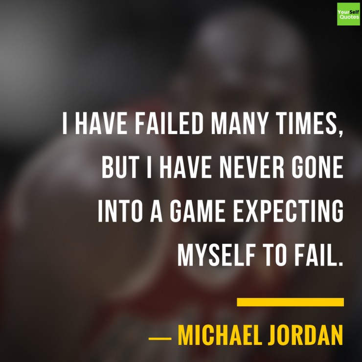 Basketball Player Michael Jordan Quote