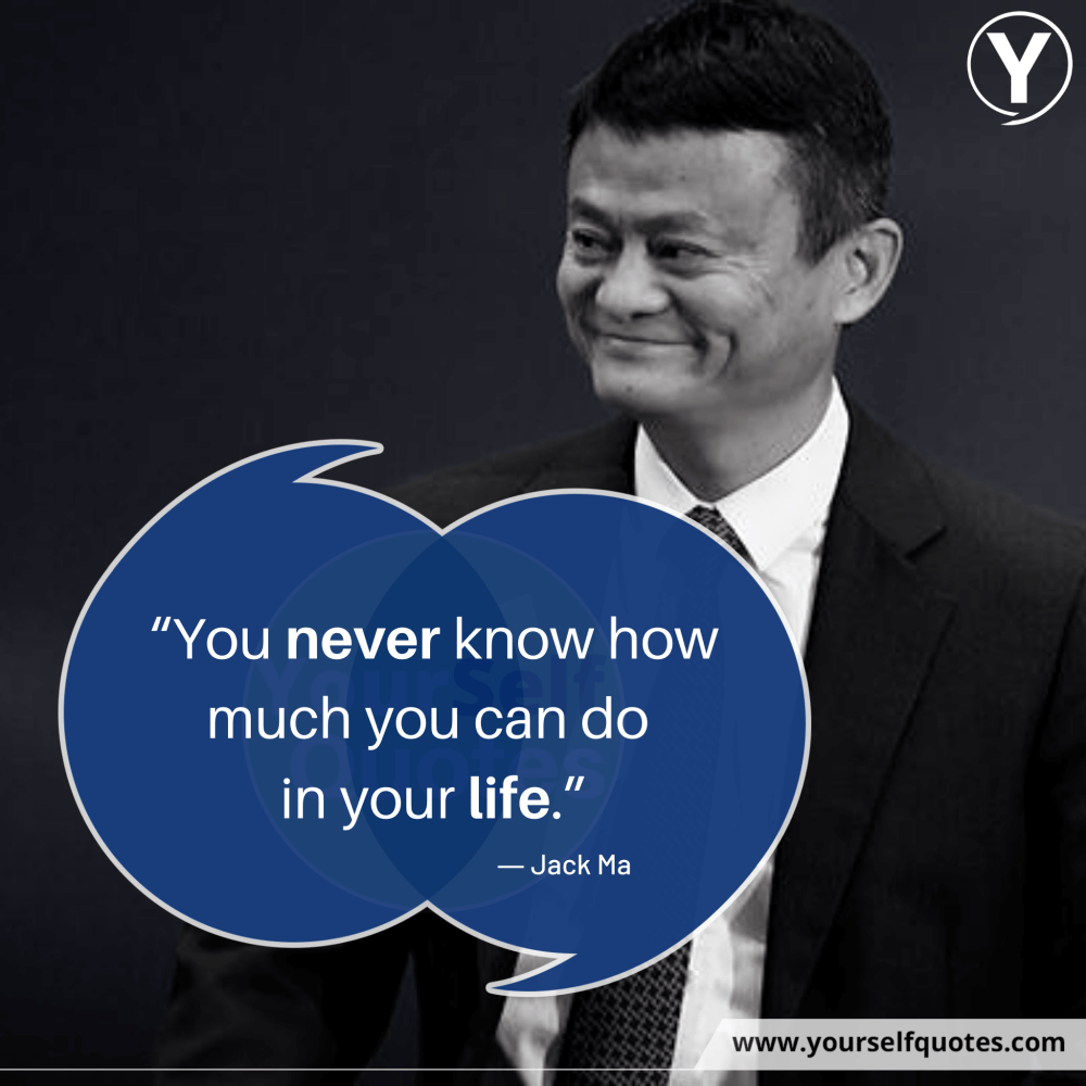 Best Jack Ma Life Quotes