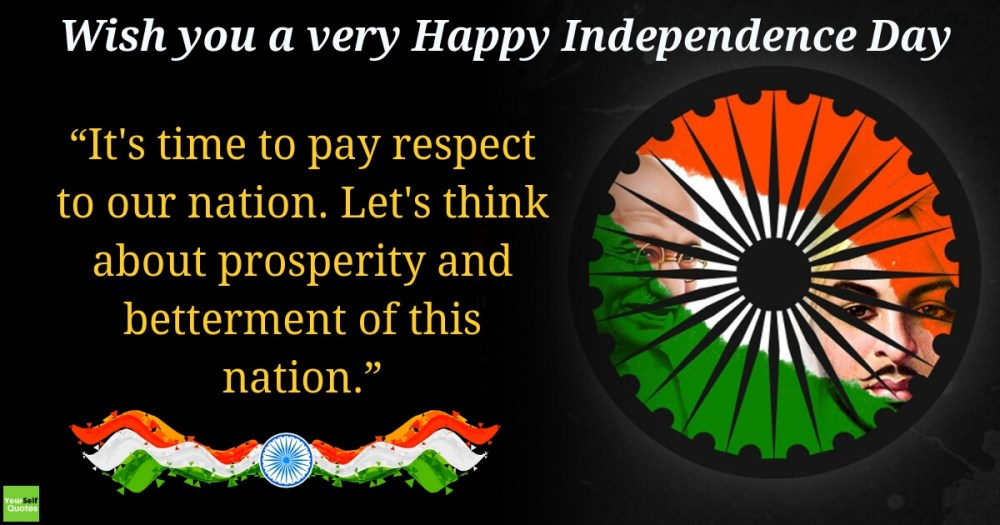 Independence day Wishes Status