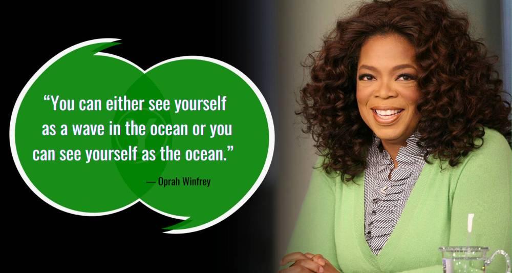 Ocean Quotes by Oprah Winfrey
