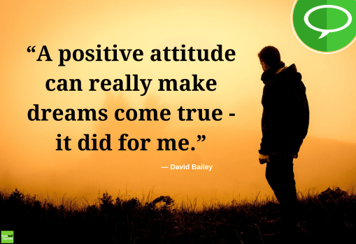 thought about positive mental attitude