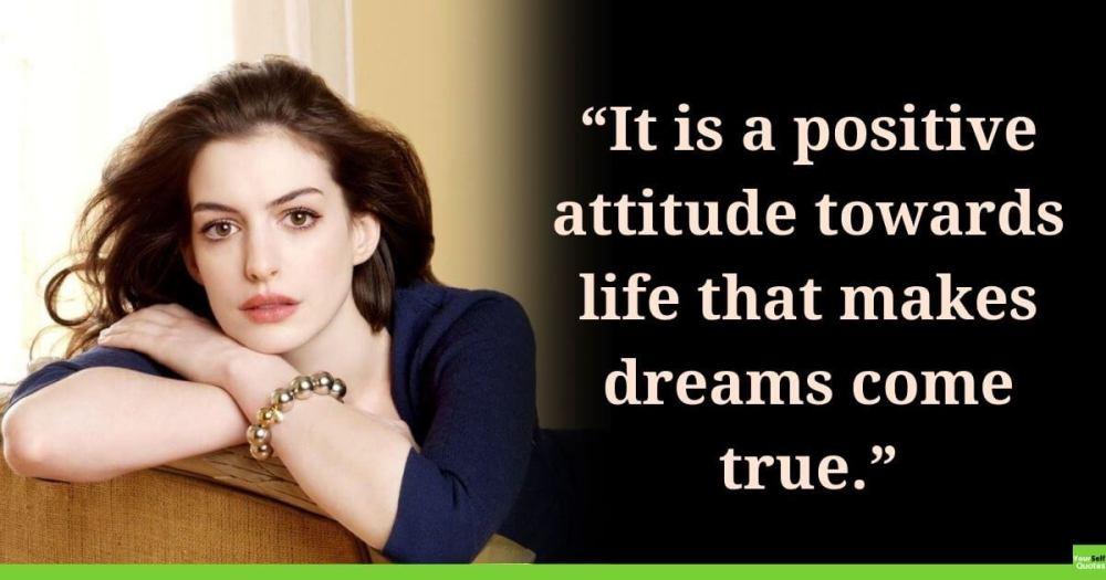 Positive Attitude Quote on Life