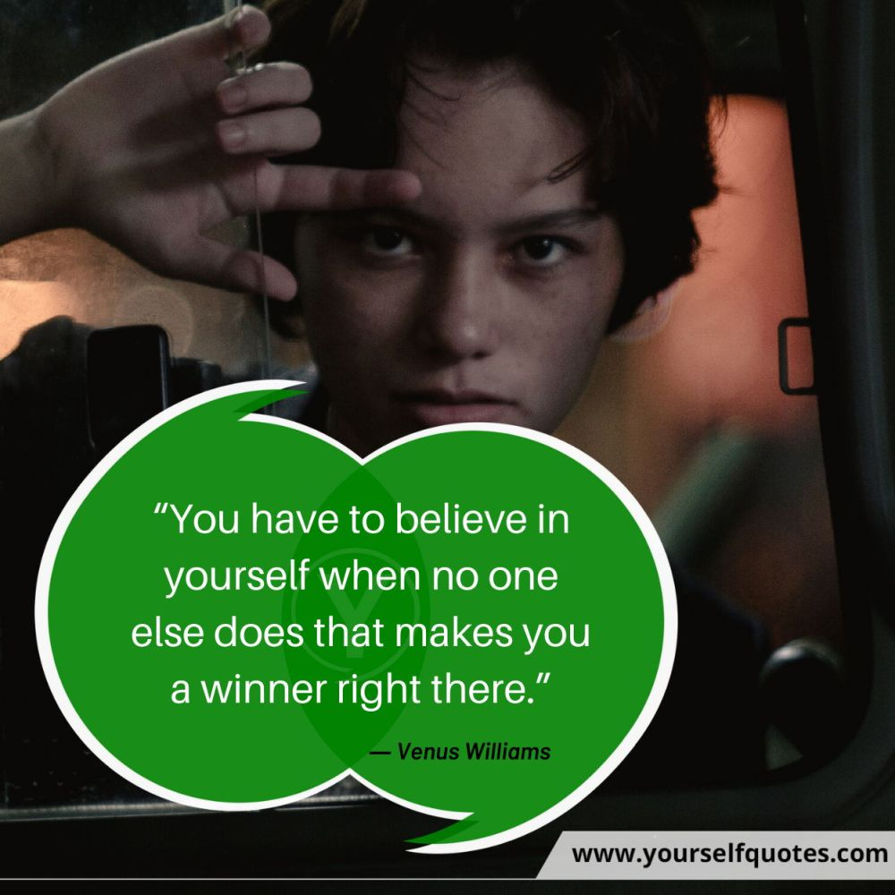 Quote Of The Day by Venus Williams