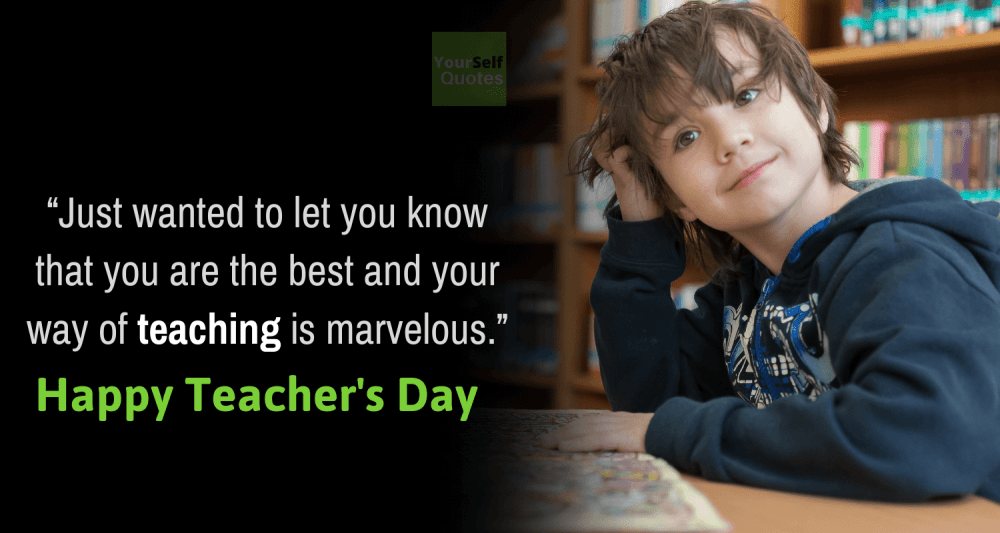 Wishes Quote on Teachers Day